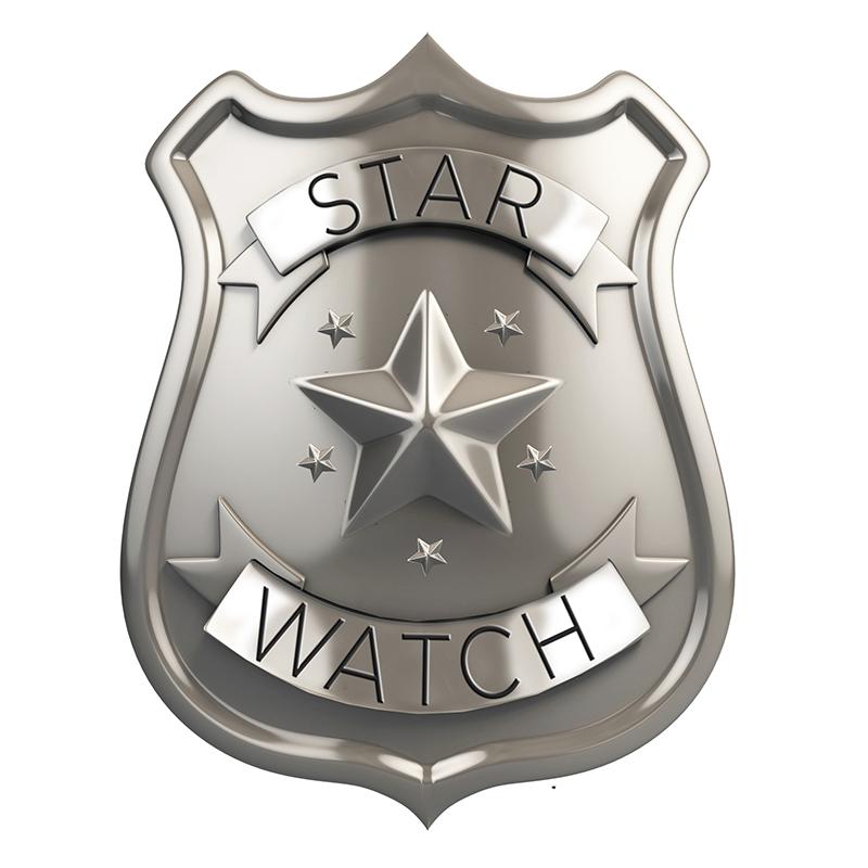 STAR WATCH BADGE